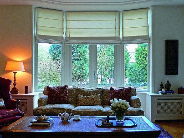 Cortinas sistemas y telas para cada ventana conejo negro cortinas roller black out y sunscreen - Cortinas o estores para salon ...